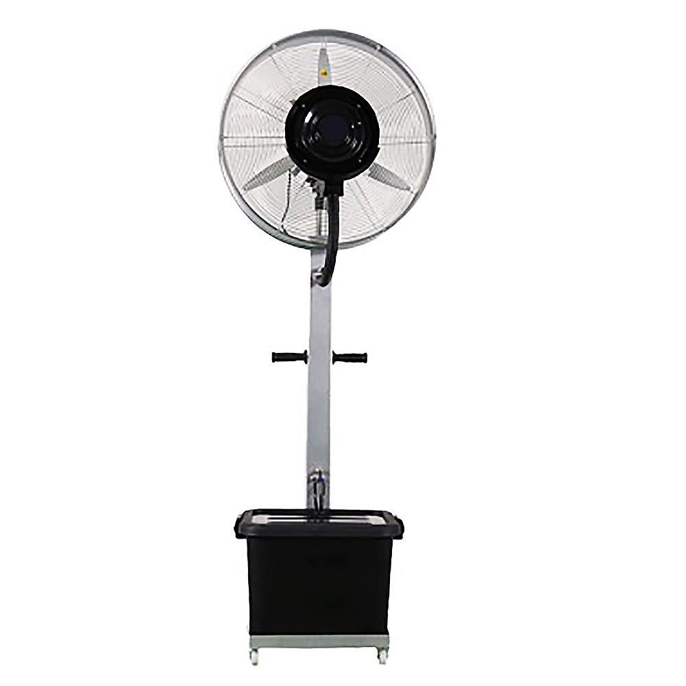 Ventilador con Agua pulverizada, Ventilador de Piso oscilante ...