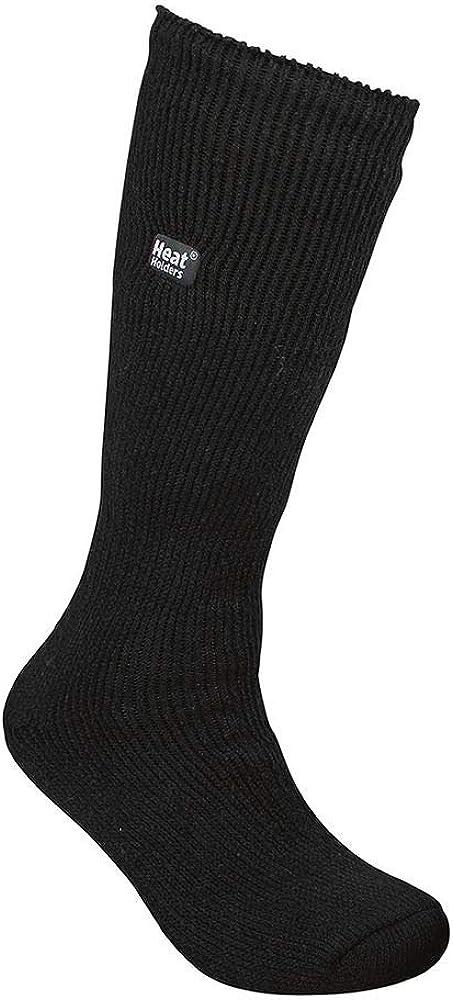 Men's Bigfoot Original Thermal Heat Holders Socks 13-15 Us Black