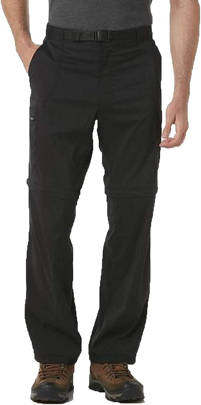 W38x30L Size Mens Outdoor Life Convertible Pants Balck