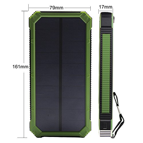 Solar Charger Solar External Battery Pack Ibeek