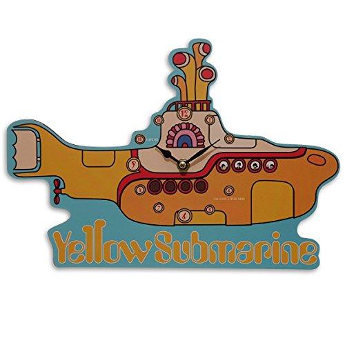 The Beatles Clock Yellow Submarine