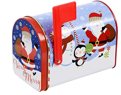 The Pens and More Store Card Holder - Mailbox - Snowman & Santa