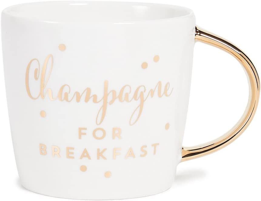 Aboard Hot Mess Slant Collections 14-Ounce Porcelain Coffee Mug