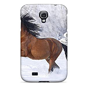 Sanp On Case Cover Protector For Galaxy S4 (winter Horse)