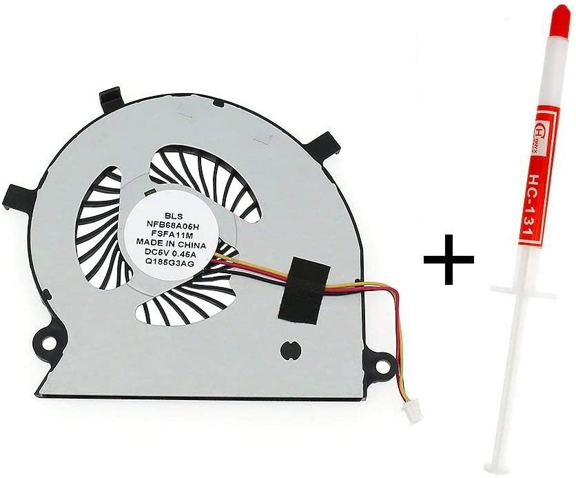 YEECHUN New Laptop CPU Cooling Fan for Toshiba Satellite Radius P55W-B P55W-B5112 P55W-B5318 P55W-B5220 P55W-B5224 Series Replacement P/N:BAAA0705R5H with Thermal Grease