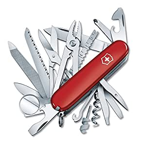 Victorinox Swiss Army Swiss Champ Pocket Knife (Red)