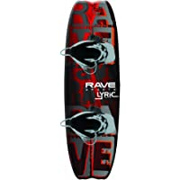 RAVE Lyric Wakeboard with Advantage Boots (Orange/Black)