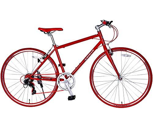 登録人事ピアノSPEAR(スペア)クロスバイク 700C シマノ 変速 7段 SPC7007 適用身長 160cm 以上 1年保証付