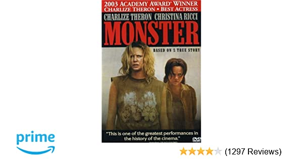 I Survived Monster In Lower Stacks Of >> Amazon Com Monster Lee Tergesen Charlize Theron Christina Ricci