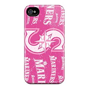 Iphone 6 XPT8363iSKm Support Personal Customs Fashion Seattle Mariners Image Scratch Protection Hard Phone Covers -InesWeldon