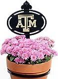 Henson Metal Works Texas A & M University Collegiate Logo Wall Mounted Flower Pot Holder