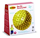 EDUSHAPE 7-Inch See Me Sensory Ball-Colours May Vary