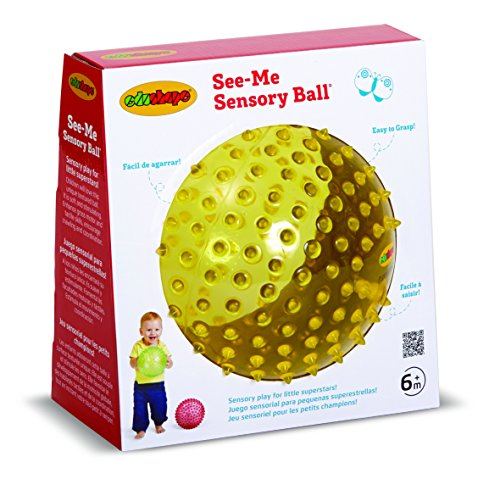 Edushape See-Me Sensory Ball, 7 Inch, Colors May Vary ()