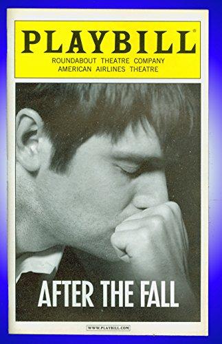After The Subside + Broadway playbill + Peter Krause , Jessica Hecht , Vivienne Benesch