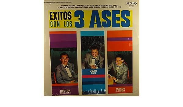 Hector Gonzalez, Juan Neri, Marco a Muniz - Exitos con los 3 Ases - Amazon.com Music
