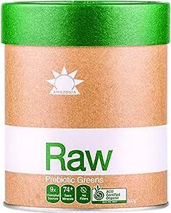 Amazonia Raw Prebiotic Greens, 300 g