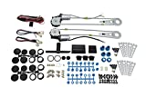 DS18 RC-PWK2D Red Cobra Universal Power Window Kit for Two Doors