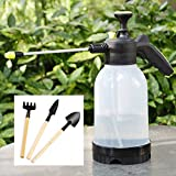 Spray Bottles Hand Hold Garden Sprayer Bottles for Cleaning, Housekeeping, Office, Chemicals, Pesticides, Car, All Purpose Cleaners (2 L, White)