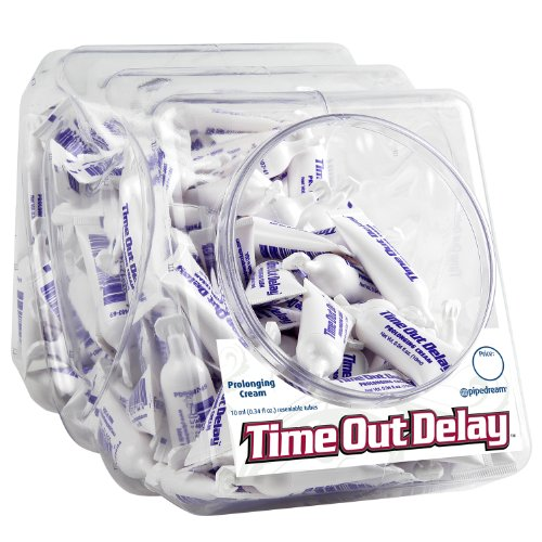 Pipedream Products Time Out Delay Cream Bowl, 10 ml