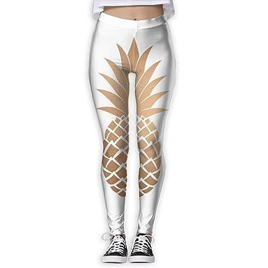 fdghjdfghjfhjd Pantalones de Yoga Mujer Yoga Pants Gold ...