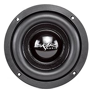 "Skar Audio EVL-65 D4 6.5"" Dual 4 Ohm 400W Max Power Subwoofer"