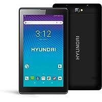 "Hyundai Koral - Tablet 7"" Android 8.1 Oreo Go Edition, 8 GB, 1 GB RAM (7M4, Negro)"