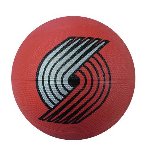 fan products of Spalding NBA Portland Trailblazers Mini Rubber Basketball