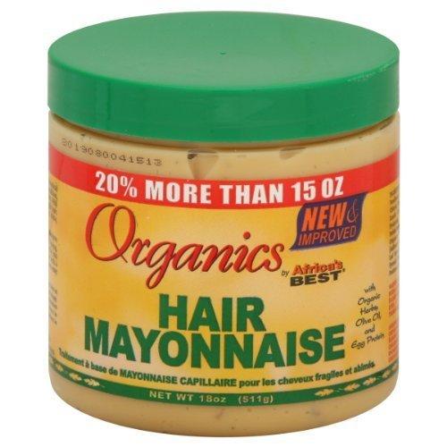 Africa's Best Organics Hair Mayonnaise, 15 oz by Organic Root Stimulator
