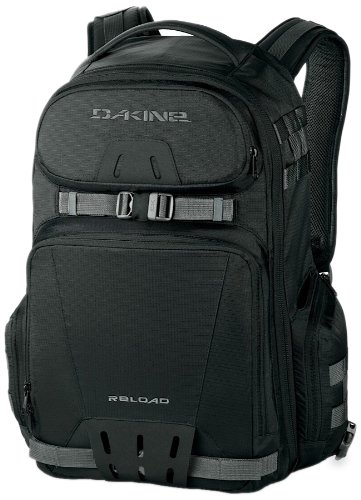 Dakine 26-Litre Reload Pack (Black, 21.5 x 12.5 x 8.5-Inch), Outdoor Stuffs