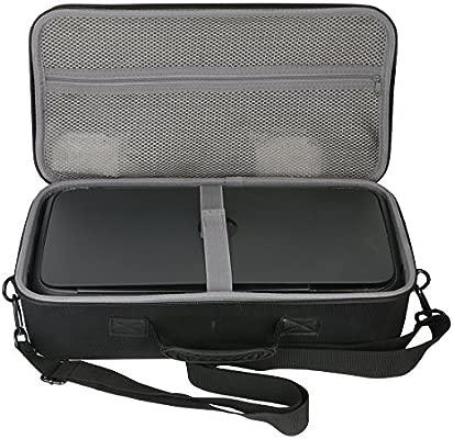 co2CREA Viajar Llevar Caja Bolsa Fundas Estuche Case para HP OfficeJet 250 Mobile AiO Impresora multifunción(Estuche para HP 250)