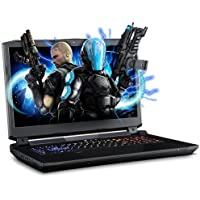 XOTIC Sager NP9172 (Clevo P775DM3-G) - 17.3 Full HD IPS Matte Screen w/ G-Sync Gaming Laptop Intel Core i7-7700K GTX1080 16GB DDR4 500GB SSD 1TB HDD Win10 Kabylake Backlit Keyboard