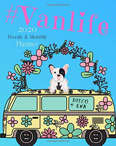 Vanlife 2020 Monthly And Weekly Planner