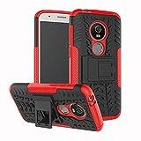 Moto E5 Play Case, Moto E5 Cruise Case, Boythink Double-Layer Hybrid Shock Resistant