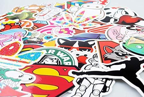 Autocollant Lot [150-pcs] Graffiti Autocollant Stickers vinyles pour ordinateur portable, enfants, voitures, moto, vélo, Skateboard bagages, Bumper Stickers hippie autocollants Bomb étanche...