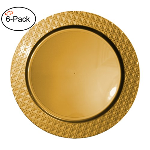 Which is the best gold charger plates plastic?   Meata Product Reviews