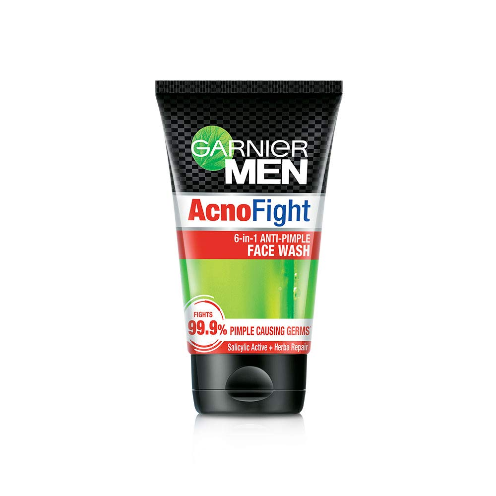 Garnier Men Acno Fight Anti-Pimple Facewash, 100gm product image