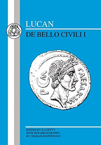 Lucan: Bello Civili I (Latin Texts) (Bk. 1)