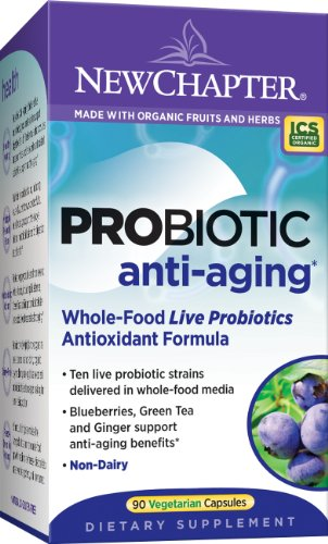 New Chapter Probiotic Anti-Aging, 90 Capsules