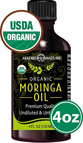 Top recommendation for moringa oil certified organic
