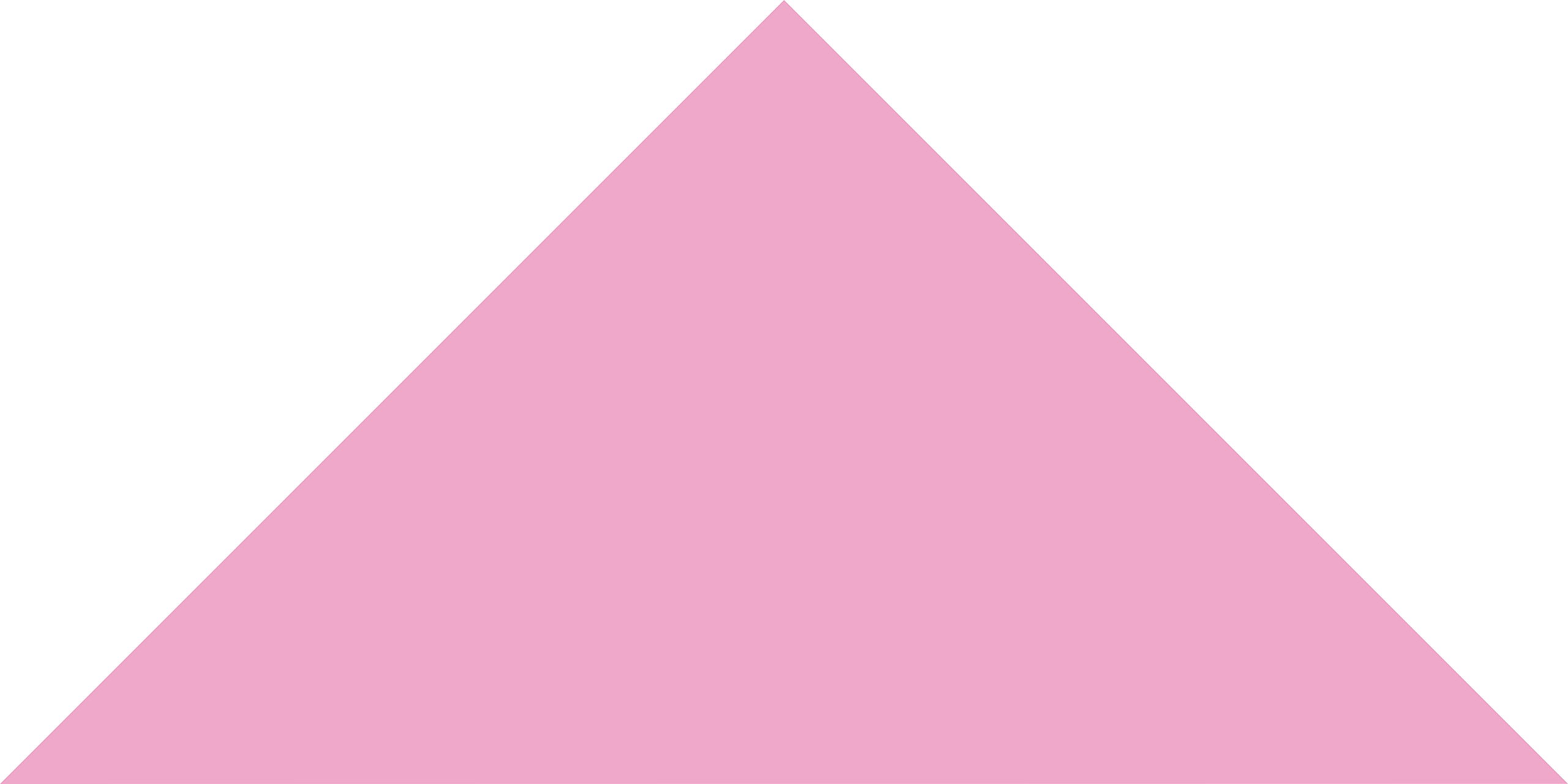 Carnation Pink Large Triangle Wall Pattern - Set of 12 - Pattern Vinyl Wall Art Decal for Homes, Offices, Kids Rooms, Nurseries, Schools, High Schools, Colleges, Universities