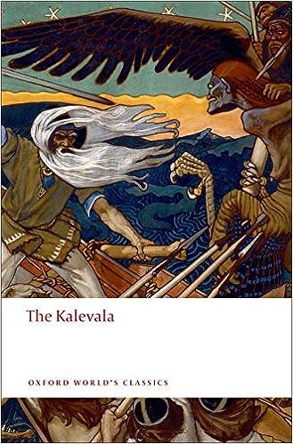 The Kalevala: Or Poems of the Kaleva District