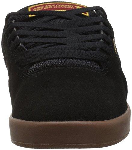 DVS Zapatos Kerry Getz Getz+ Negro-Gum-Ante