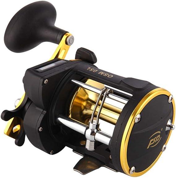 AUMING Carrete de Pesca Spinning Multiplicador de Tambor Carrete ...