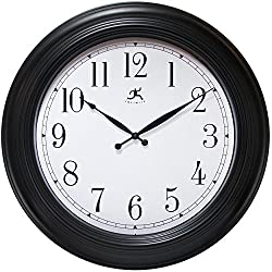 24 Inch Traditional Black Wall Clock