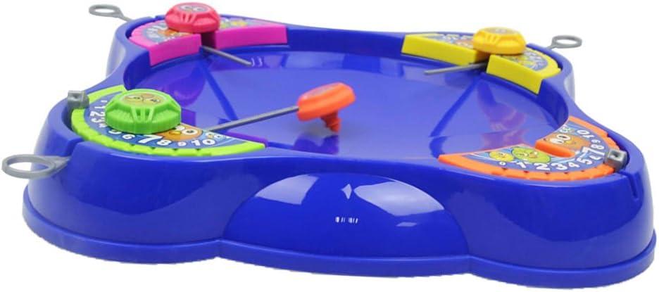 Niños Plástico Spinning Top Peg-Top Niños Kindergarten Juguetes 4 ...