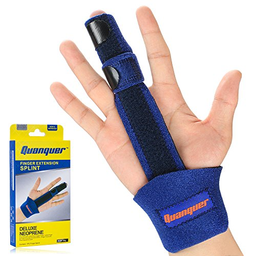 Finger Extension Splint for Trigger Finger, Mallet Finger, Finger Knuckle Immobilization, Finger...
