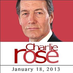 Charlie Rose: Piers Morgan, January 18, 2013 Radio/TV Program