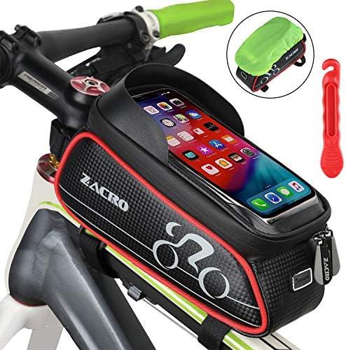 Zacro - Bolso para Cuadro de Bicicleta, Impermeable, Pantalla ...