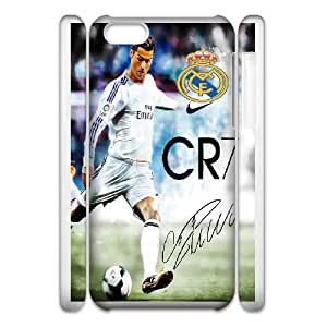 Real Madrid Players Cristiano Ronaldo for iphone 6 Plus 5.5 3D Phone Case Cover 66TY426743