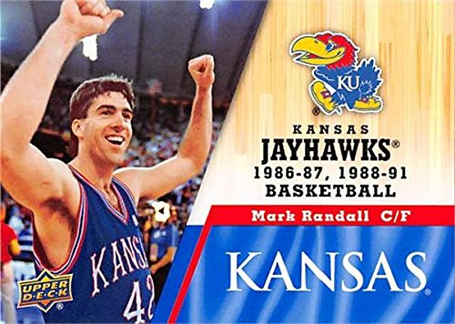 - Mark Randall Basketball Card (Kansas Jayhawks, 1986-1991) 2013 Upper Deck #41